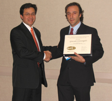 James Instruments Award Winner Gonzalo Cetrangolo