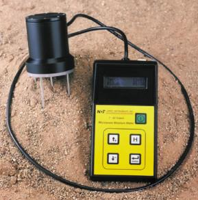 Trident microwave moisture meter for sand and aggreagates
