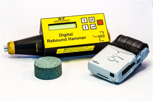 Digital Test Hammer with Printer
